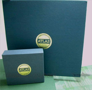 cd book glued on sleeves black kraft paper